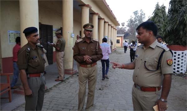 security arrangements made for voting in up