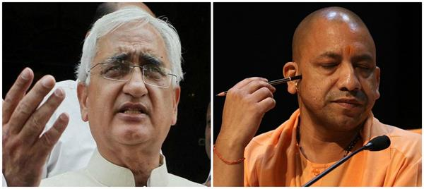 khurshid challenges open discussion on the batla house issue to yogi