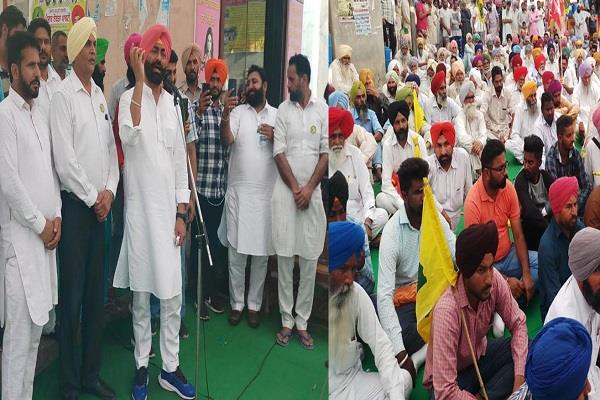 village of aap mp sadhu singh needlessly