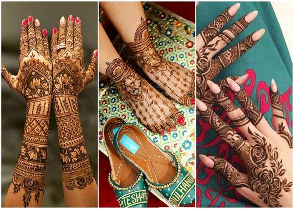 Festive Vibes! नवरात्रि स्पैशल मेहंदी डिजाइन्स ( See Pics)