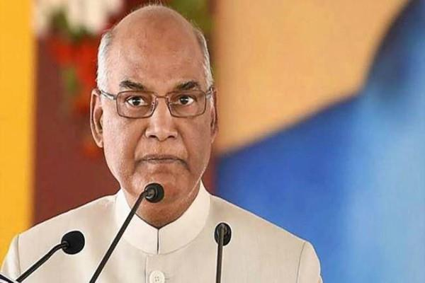 kovind expresses concern over lack of girls in higher education