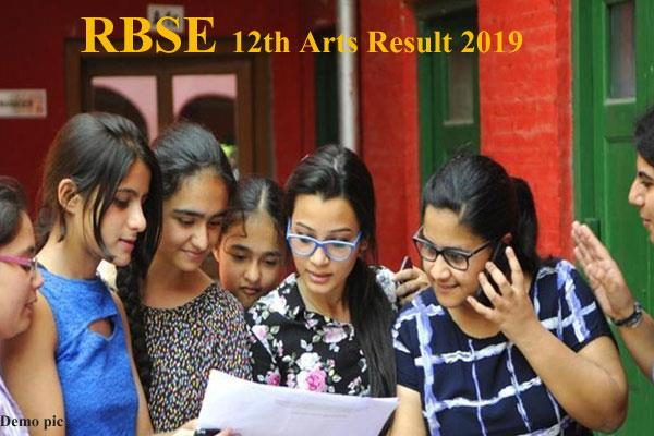 rbse 12th arts 2019 result