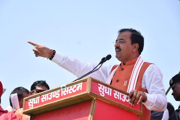 opposition has been frustrated with the first phase polling maurya