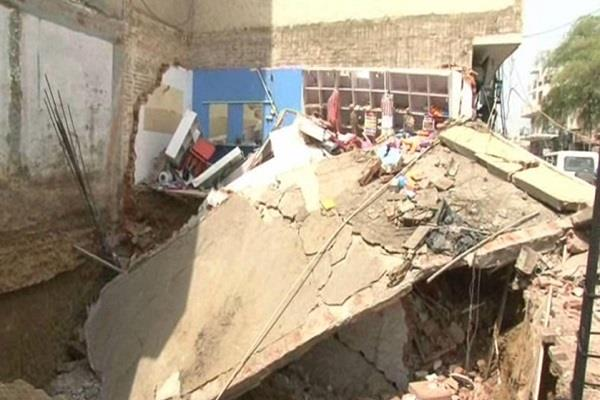 the wastage of the basement during the basement excavation was done illegally