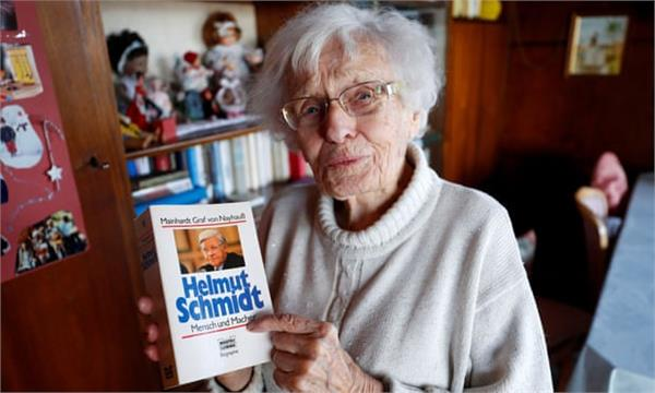 woman stands in german council election aged 100