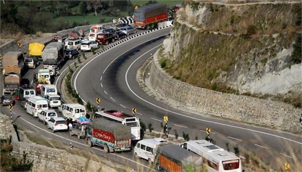 civil traffic starts on jammu srinagar highway