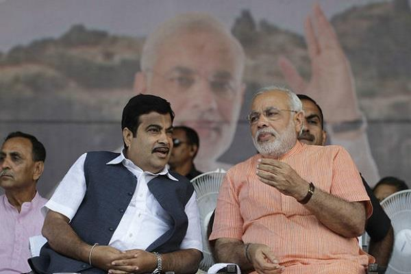 gadkari claim modi will be pm again