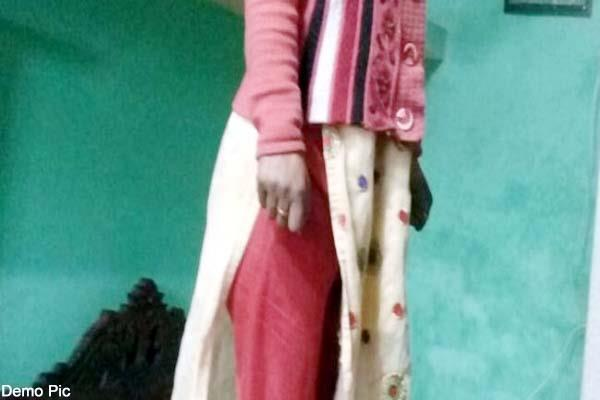 woman committed suicide in house