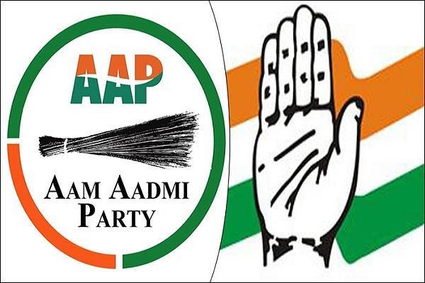 main collision between congress and akali dal lok sabha elections