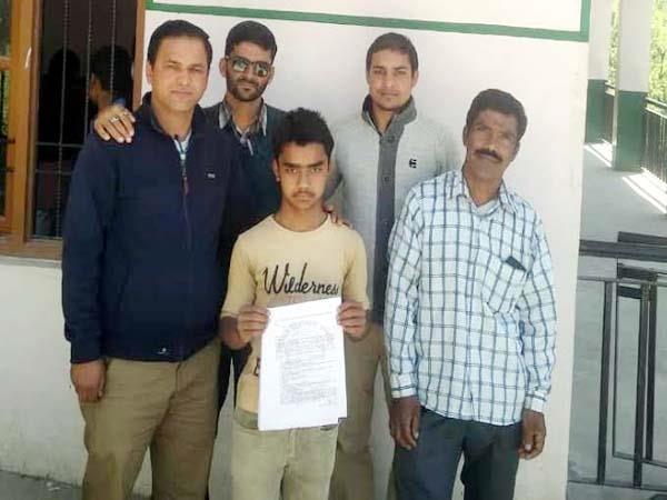 rohit kumar selected for navodaya