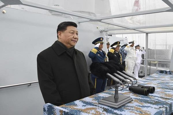 chinese army silence on the absence of pakistani ships during the naval parade