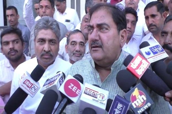 announcing the nominations of inld chautala on april 15 list released