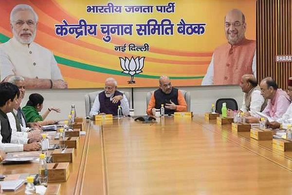 delhi bjp announces four candidates