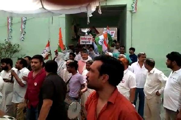 congress gutbaji in haryana hudda affectted area bahadurgarh