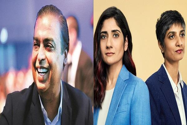 in the list of time s 100 most influential people ambani arundhati katju