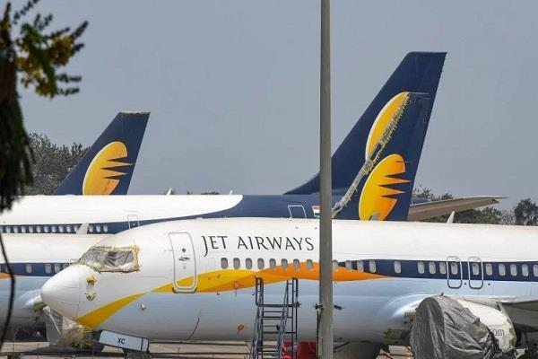 jet airways jumped off the roof