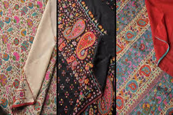 rare shawls made from hand in kashmir will be auctioned in britain