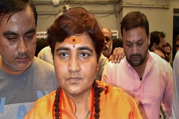 sadhvi pragya took back the statement given by hemant karkare