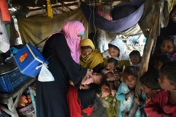 the fear of spreading among people about polio drops in pakistan
