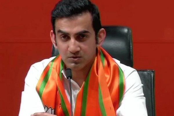 gautam gambhir becomes bjp candidate from east delhi