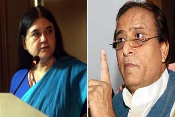 big action of ec 48 on maneka and 72 hours on azam khan