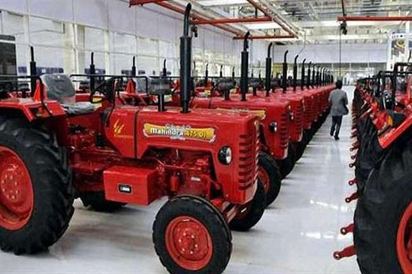 tractor mahindra  mahindra tractors total sales up 3 5 million units