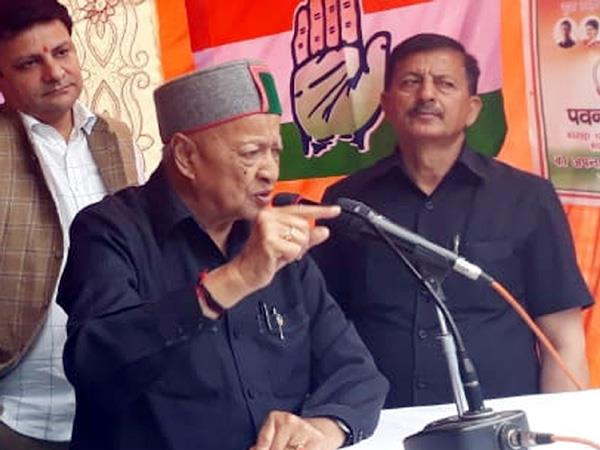 virbhadra said if the people bless then i will repeat this enormity