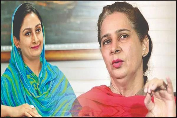 madam sidhu could not have refused give tough fight harsimrat badal