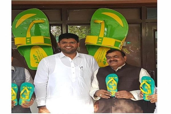 congress ticket given to jjp leader yash singh nishad