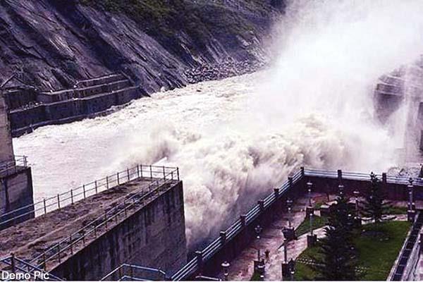 increase water level of satluj river