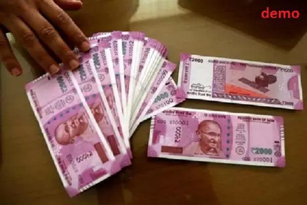 lok sabha checking team holds 1 lakh 85 thousand rupees