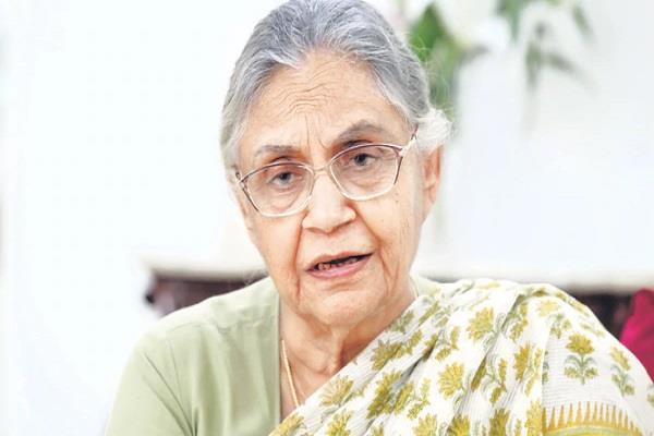 congress will win all seven seats in delhi sheila dikshit