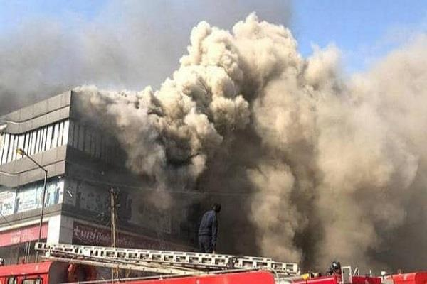62 deaths per day from fire in india