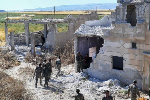 five killed in terrorist attack in syria