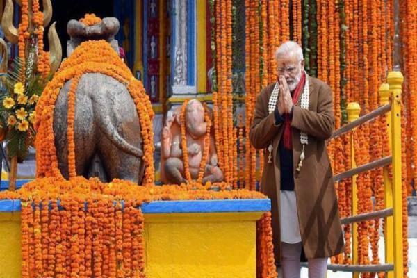 pm modi in kedarnath badrinath on 18 19 may