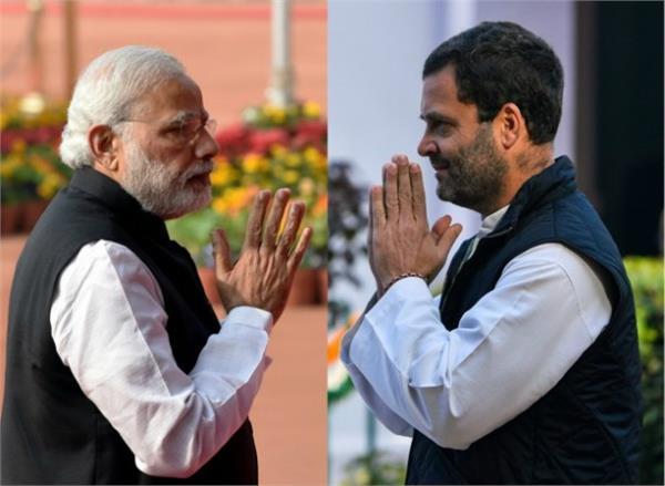 modi roams on media rahul gains momentum