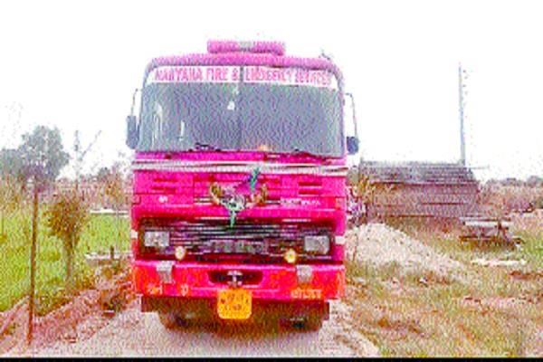 rewari fire in dairy plant 50 animals burner dead
