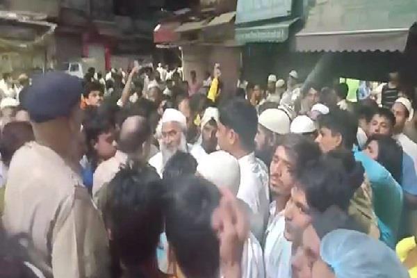 gunfight with namaz during cyber  city prayers
