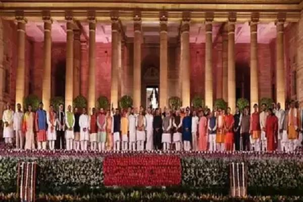 modi cabinet included 5 veterans of the cabinet