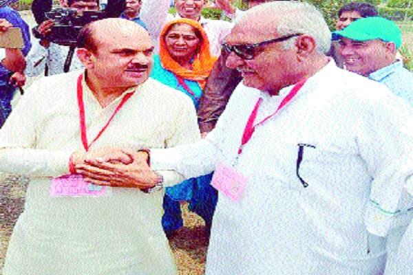 modi s vote chaudhar s injured