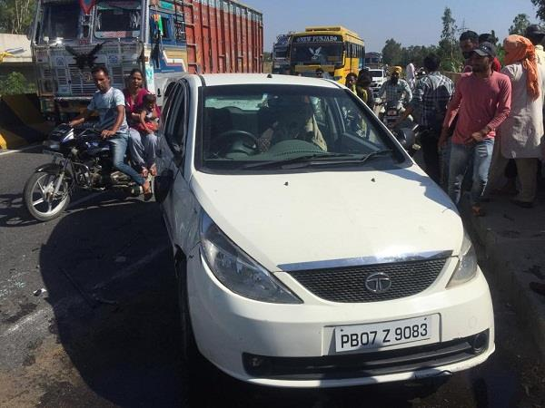 student died in accident