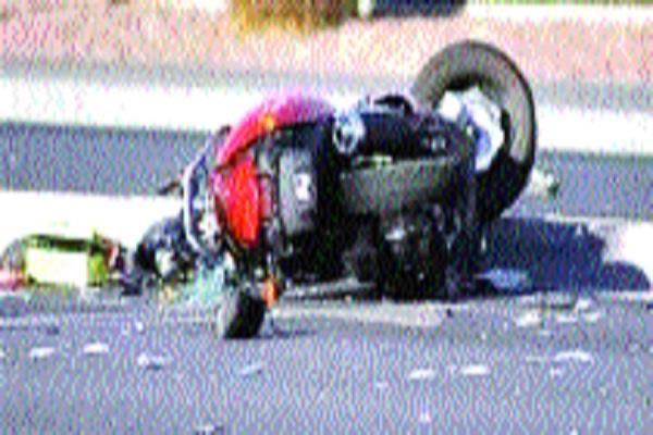 high speed vehicle hits bike killing 3 students