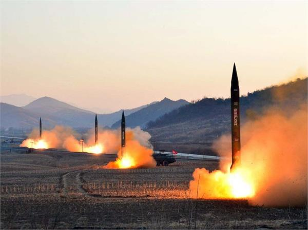 north korea  test fires short range missiles