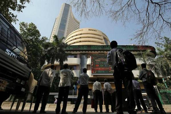 sensex opens up by 960 points after exit poll
