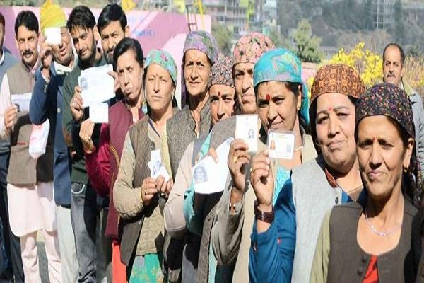 view of kangra chamba lok sabha seat final voter turnout