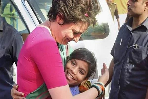 priyanka gandhi helped baby girl with tumor