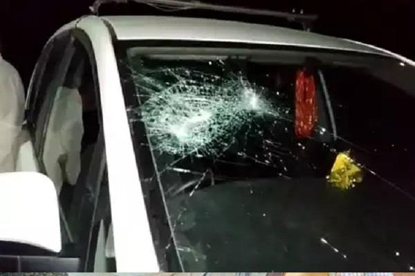 unidentified people attacked mla mahesh parmar