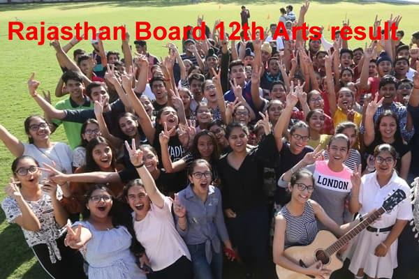 rbse 12th result 2019 result of rajasthan board s 12th arts result