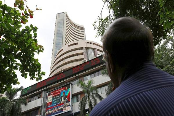 sensex down 90 points to below 37000 jet airways shares up 13