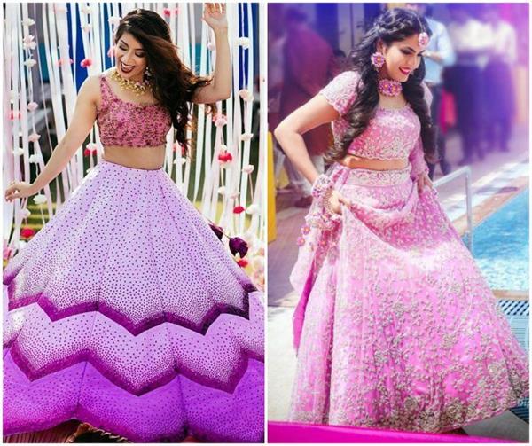 Bridal Fashion: लैवेंडर बना इस सीजन का ट्रैंडी कलर(See Pics)